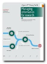Managing Information for Research