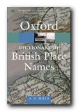 Oxford Dictionary of British Place Names