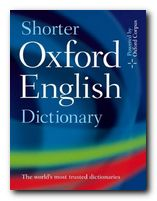 New Shorter Oxford Dictionary