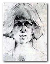 Dora Carrington - portrait