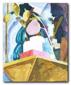 Vanessa Bell - Still life on mantelpiece