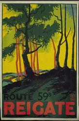 E. McKnight Kauffer - British Rail poster