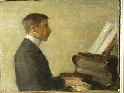 Saxon Sydney-Turner at the Piano