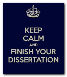 Planning a Dissertation